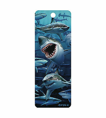 Cheatwell Games 3D Bookmark - Sharks - NEW
