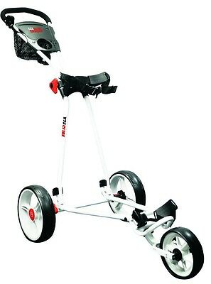Ezeglide QuickFold Cruiser Trolley White with Footbreak Easy Push Soft Grip