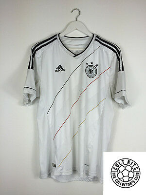 GERMANY 12/13 Home Football Shirt (L) Soccer Jersey Adidas World Cup