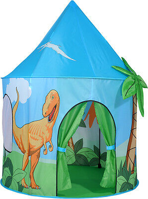 Childrens Dinosaur Pop Up Play Tent For Indoor Outdoor Play
