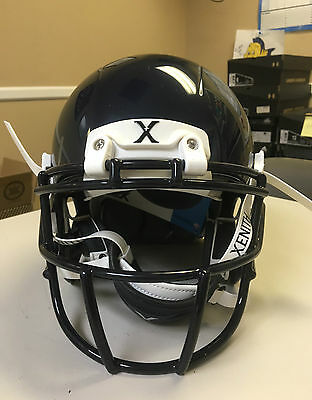 2016 Xenith X2E Football Helmet With Mask Color Navy Size Youth Large  (Hc-430)