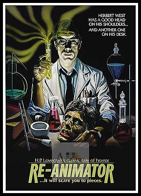 Re-Animator  Horror Movie Posters Classic & Vintage Films