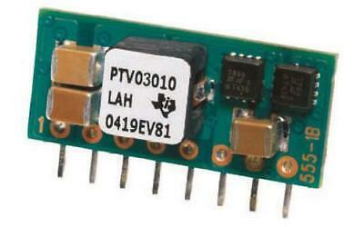 1 x Texas Instruments DC-DC Converter 12V Input, 0.8-1.8V Out SIP Module