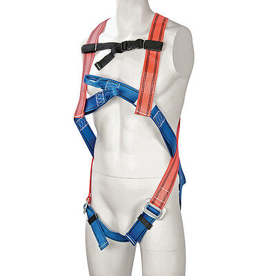 Silverline Fall Arrest Harness - Dorsal attachment D-ring Polyester Webbing