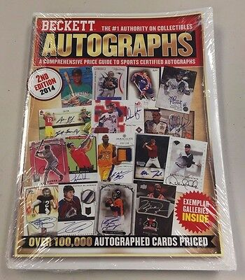 2016 Beckett Autograph Card Annual Price Guide Magazine - 2nd Ed - QTY Free Ship