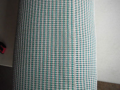 "Turquoise Grill Cloth  SF Fender Amps 36"" x 36"" USA Made.."