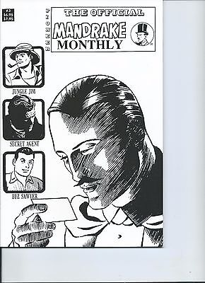 The Official Mandrake Monthly #3 by Lee Falk and Phil Davis  NM