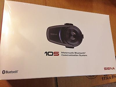 New Sena 10S Single Motorcycle  Bluetooth Communication System 10S-01