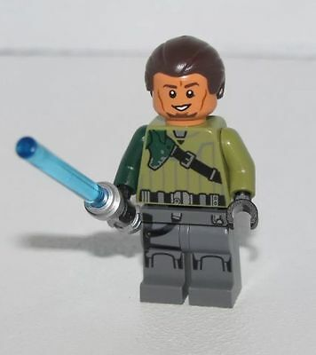 Kanan Jarrus LEGO Minifig with Lightsaber - Genuine from Star Wars Set 75141