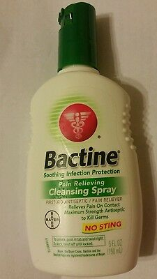 Bactine Pain Relieving Cleansing Spray 5 fl oz (150 ml)