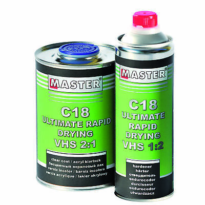 C.A.R.FIT 2K RAPID Clear Coat VOC Speed KLARLACK 7,5 Liter Set