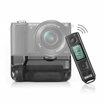 Meike MK-A6300 Pro 2.4G Wireless Remote Battery Grip for Sony A6300 ILCE-6300