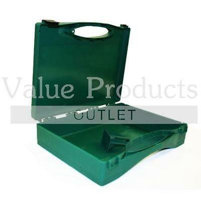 Large Empty First Aid Case Box and Wall Mount Bracket
