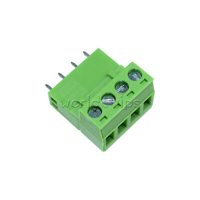 5Pcs KF2EDGK KF-4P Right-Angle Plug-in Terminal Connector 5.08mm Pitch
