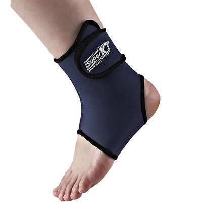 Adjustable Ankle Foot Support Protector Neoprene Brace Wrap Gym Sports Pad Guard