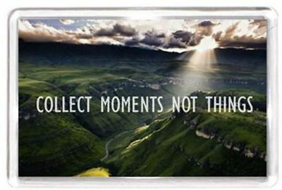 Collect Precious Moment Bright Sun Scenery Quotes Saying Gift Fridge Magnet