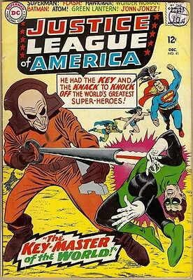 Justice League Of America #41 - G/VG
