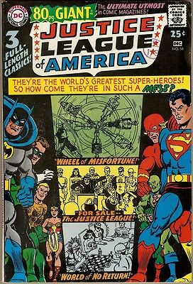 Justice League Of America #58 - FN
