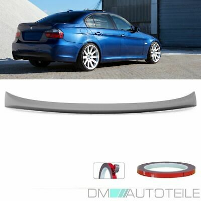 ABS Performance Sedan Rear Trunk Spoiler Roof Lip Sport fits on BMW E90 05-11+3M