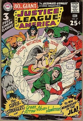 Justice League Of America #67 - FN-