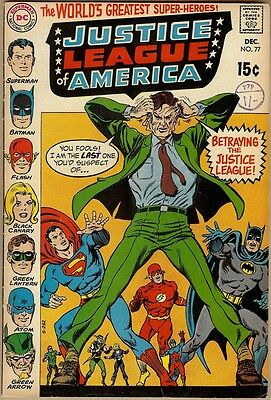 Justice League Of America #77 - VG/FN