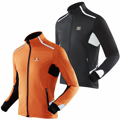 X-Bionic Running Man Spherewind Light Winter Jacke Laufjacke Funktionsjacke