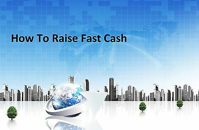 A Step-By-Step Guide On How To Raise Cash The Fastest And Easiest Way- Videos CD