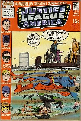 Justice League Of America #90 - FN/VF