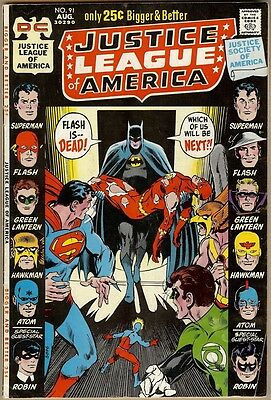 Justice League Of America #91 - VG/FN