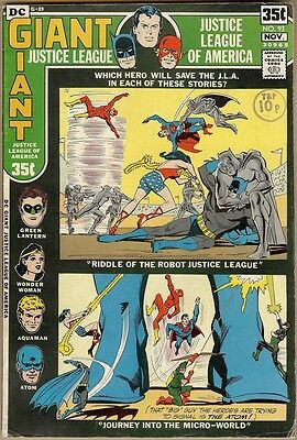 Justice League Of America #93 - VG/FN