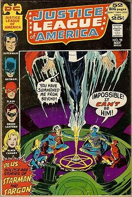 Justice League Of America #98 - VG/FN