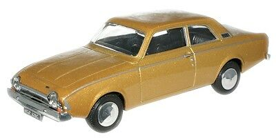 Oxford Diecast/cararama Ford Corsair 'amber Gold' New & Boxed 1:43