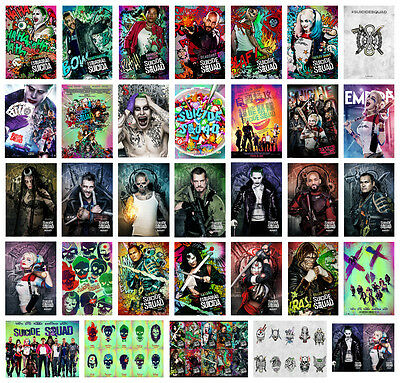 Suicide Squad Movie Film A2 A3 A4 POSTER PRINT Will 45+OPTIONS BUY 1 GET 2 FREE