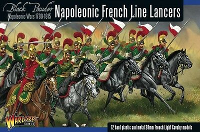 Napoleonic French Line Lancers 28mm Warlord Games Tabletop Kavallerie