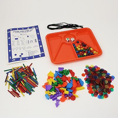 Learning Resources Count & Sort Set Sorting Classifying Categorization Counting