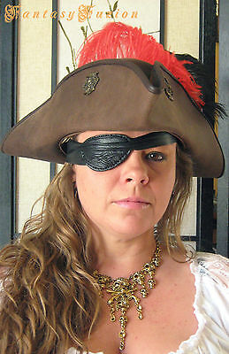 Leather Unique Pirate Eye Patch Cosplay