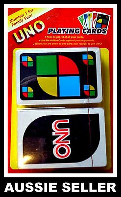 UNO CARDS Family Fun Playing Card Game Kit CHILDRENS Educational Toy Board Game