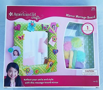 NEW American Girl crafts Mirror Message Board 144 Pieces