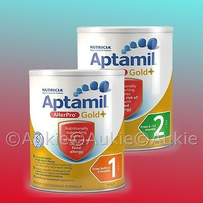 6 x 900g AllerPro Nutricia/Aptamil Gold + Stage 2, 1 Infant Formula [金质爱他美抗过敏]