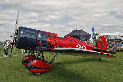 Giant 1/5 Scale RC AIrplane Printed  Plans  1929 Travel Air Mystery Ship
