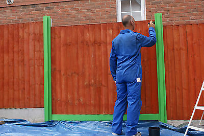 Fence Protector, Fence post masking kit, WILL SAVE YOU TIME MESS & MONEY
