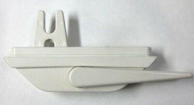 1 new Roto Truth fork casement window multi point lock locking handle off white