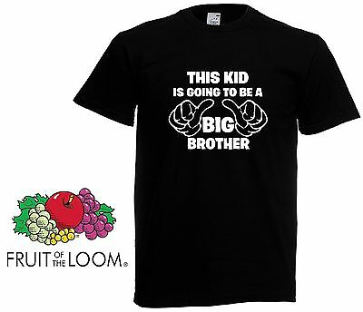 This Kid Is Going To Be A Big Bro -  Big Brother Gift Boys Kids Funny T shirt