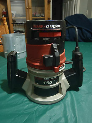 sears craftsman router model 150