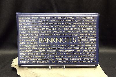 LARGE Currency Banknote Album Paper Money Post Card Savings Bond Lighthouse Case