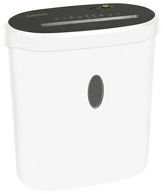 GoECOlife - 10-Sheet Microcut Shredder - White