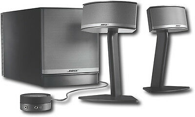 Bose® - Companion® 5 Multimedia Speaker System (3-Piece) - Black