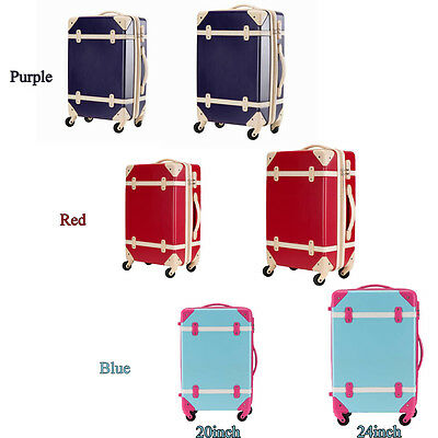 20inch 24inch Expandable ABS Carry On Luggage Travel Bag Trolley ...