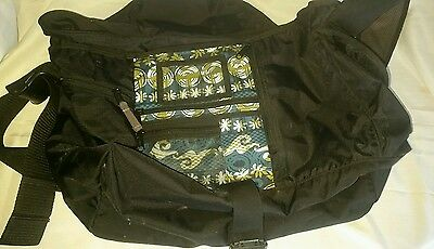 25f690788cdf LL Bean Messenger Computer Laptop School Bookbag Cross Body Large Water  Resisten