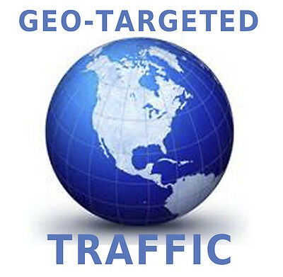 Geo-Targeted Web 10,000 visitors for any Country